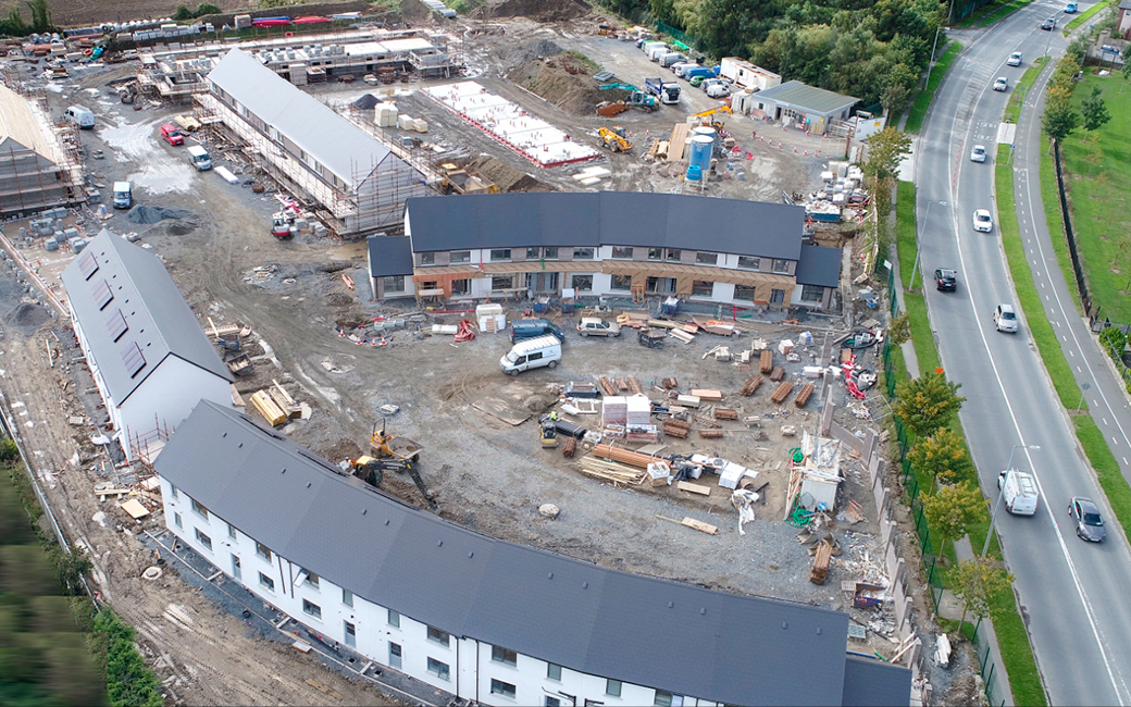 74 council houses completed in Lusk for Currabeg Developments.